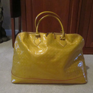Arcadia LARGE Domed Tote / Beautiful Yellow Color